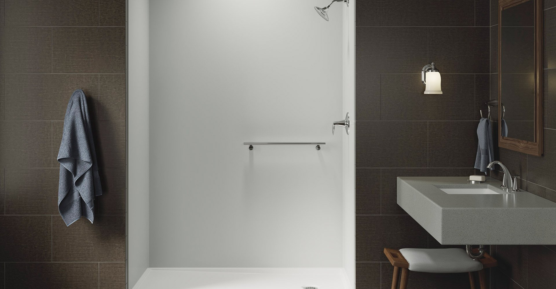Kohler Choreograph™ Shower Installation